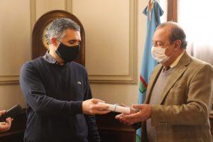 "Asumió Francisco Aramberri: ""Trataré de dar lo mejor de mí"""