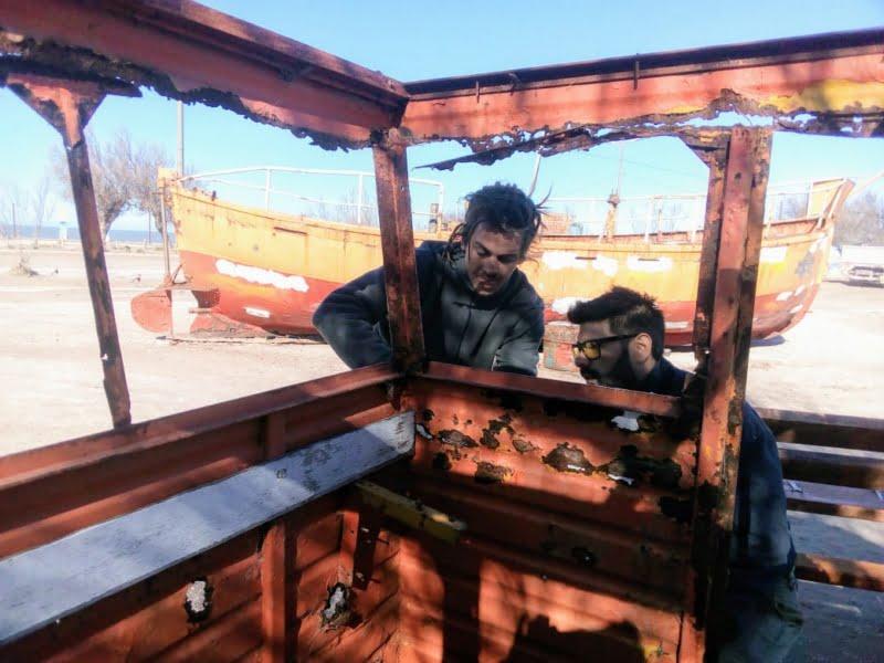 Restauran las lanchas pesqueras en Claromecó