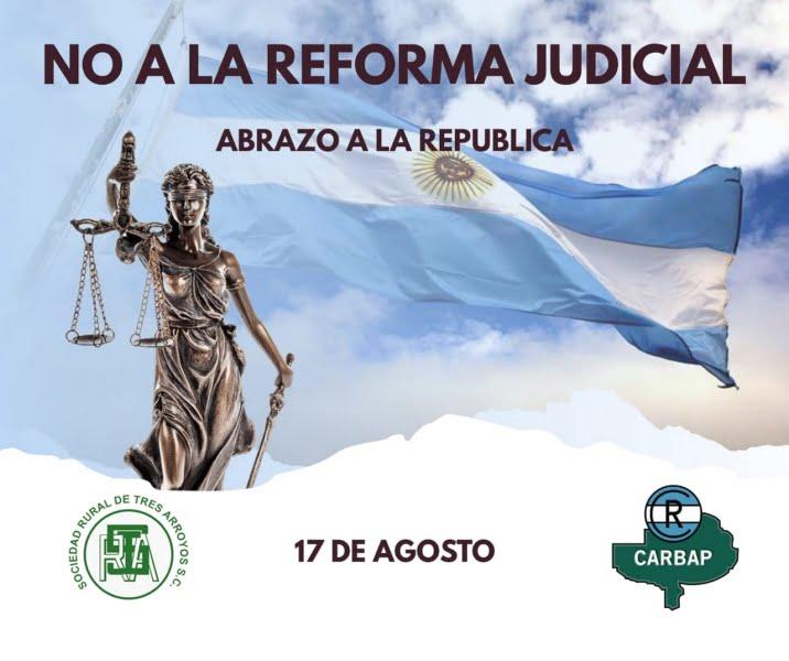 """""""La reforma judicial es inoportuna y no aporta a recuperar la confianza"""", señalan desde CARBAP"""