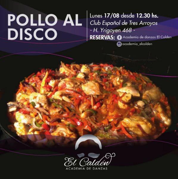 """Academia de Danzas El Caldén: """"En este feriado nosotros cocinamos por ustedes"""""""