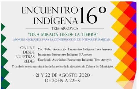 Anticipan la  16° edición del Encuentro Indígena Tres Arroyos