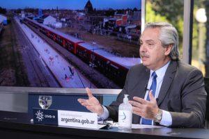 Alberto Fernández anunció obras de infraestructura ferroviaria para municipios de la Provincia