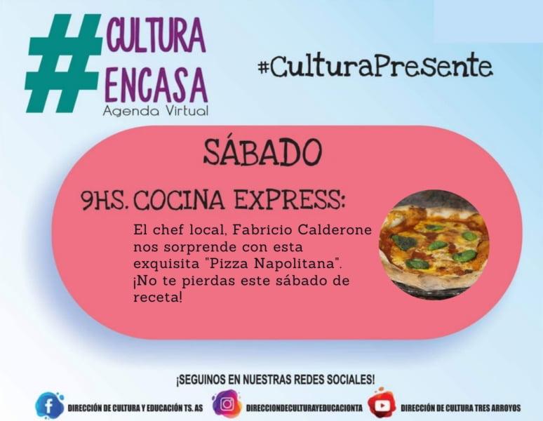 Agenda Cultural Virtual de este sábado