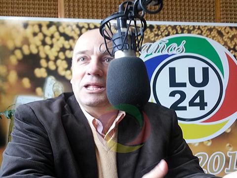 El senador Andrés De Leo advirtió sobre el crecimiento de la toma de tierras