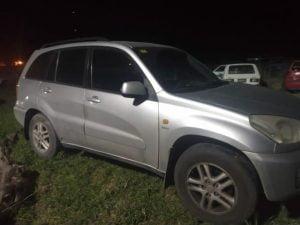 Vehículos secuestrados en operativos de tránsito