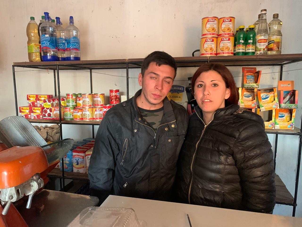 Robaron almacén de Villa Italia esta madrugada (Video)