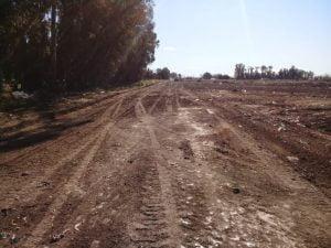 Personal municipal limpió basural clandestino ubicado en Reina Margarita