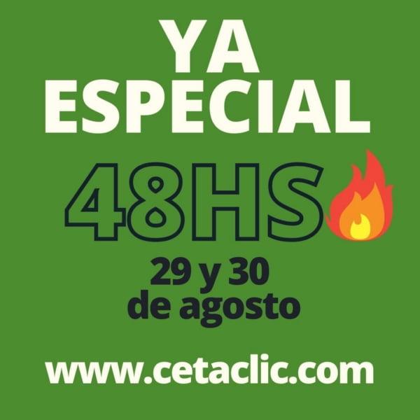 Comenzó el especial 48 horas en CETA CLIC