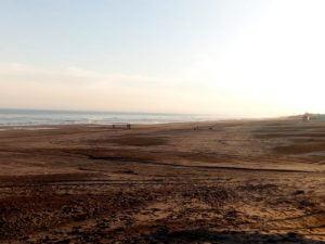Viernes soleado y agradable en Claromecó