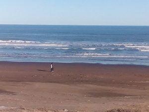 Bellísimo día en Claromecó