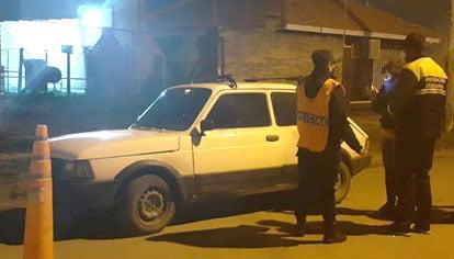 Secuestran dos motos y un auto en operativos de control vehicular