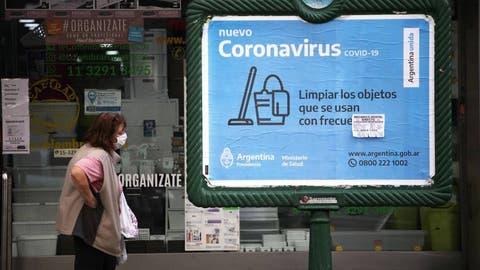 Coronavirus en Argentina: 5.469 nuevos casos en las últimas 24 horas y 66 fallecidos