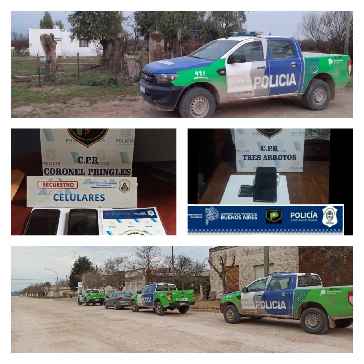 Abigeatos: secuestran celulares tras allanamientos en Indio Rico y Copetonas