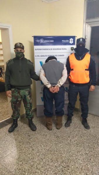 Un detenido por Abigeato en Chaves
