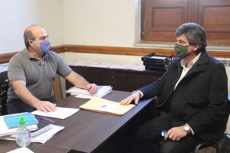 Protocolos sanitarios: Guerra y Fhurer visitaron guarderías infantiles