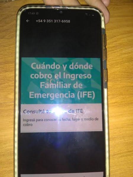 """IFE: una claromequense fue víctima de fraude por """"phishing"""""""