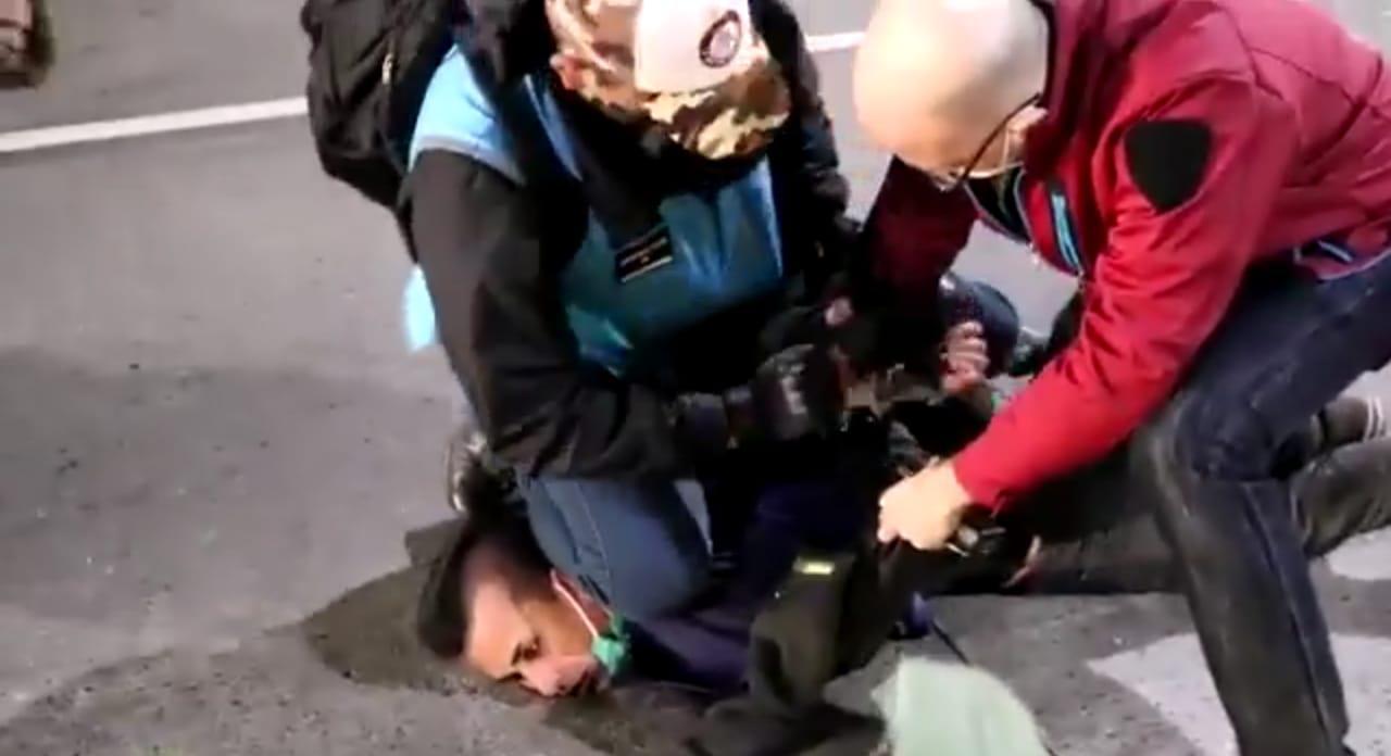 Hubo incidentes en una marcha por Facundo Astudillo Castro en el centro porteño