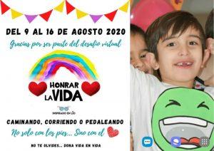 """Destacan la gran repercusión del desafío virtual """"Honrar la Vida"""" en homenaje al pequeño Lio"""