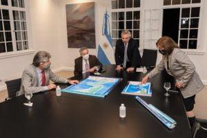 Malvinas: el Presidente destacó el trabajo de las áreas del Gobierno que confeccionaron las leyes