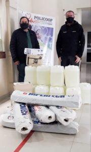 El Ministerio de Desarrollo Social de Nación colaboró con la Cooperativa Policoop