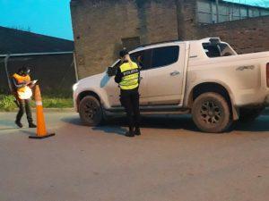 Operativos de tránsito: Secuestran moto por falta de documentación