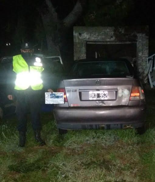 Orense: secuestran auto en operativos de control policial