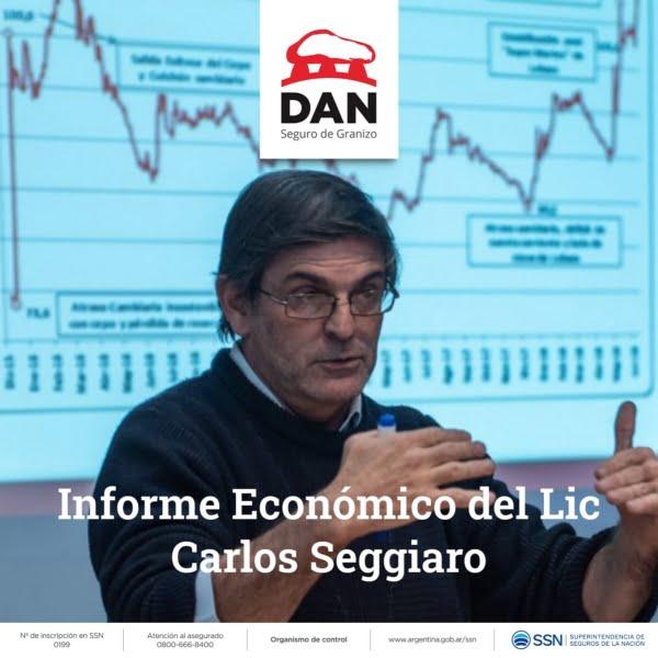 Carlos Seggiaro en el ciclo de Charlas Virtuales de la DAN