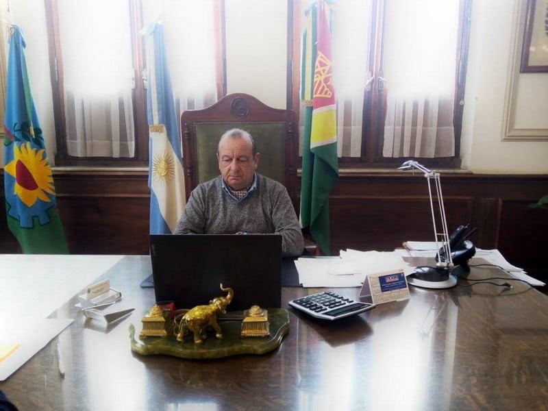 """Sánchez: """"estamos preparados, pero la Provincia nos ofreció asistencia"""""""