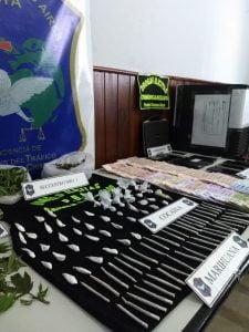 Allanamientos y detenciones en Coronel Suarez por venta de drogas (Video)