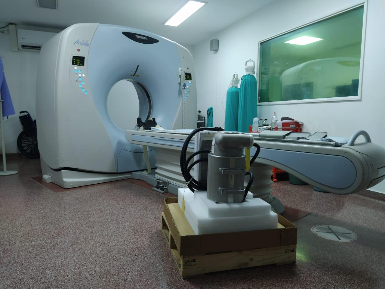 El tomógrafo del Hospital ya se encuentra en funcionamiento