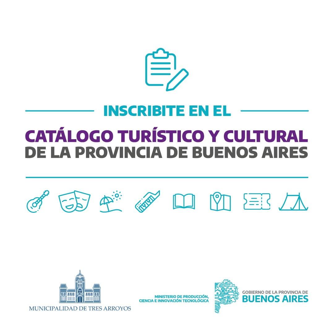 Convocatoria para inscribirse al Catálogo Turístico y Cultural