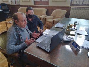 Sánchez habló con Federovisky por proyecto de la fracción orgánica de residuos