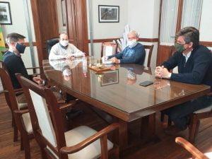 Sánchez se reunió con Alejandro Tribuchowicz