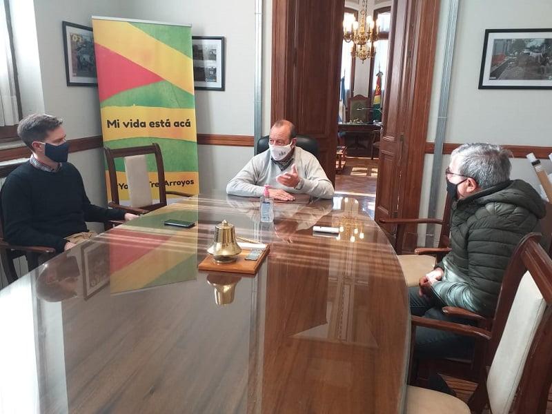 El Intendente recibió al nuevo delegado del Ministerio de Trabajo
