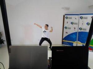 Se desarrolló el Baila Conmigo Virtual con muy buen marco de público