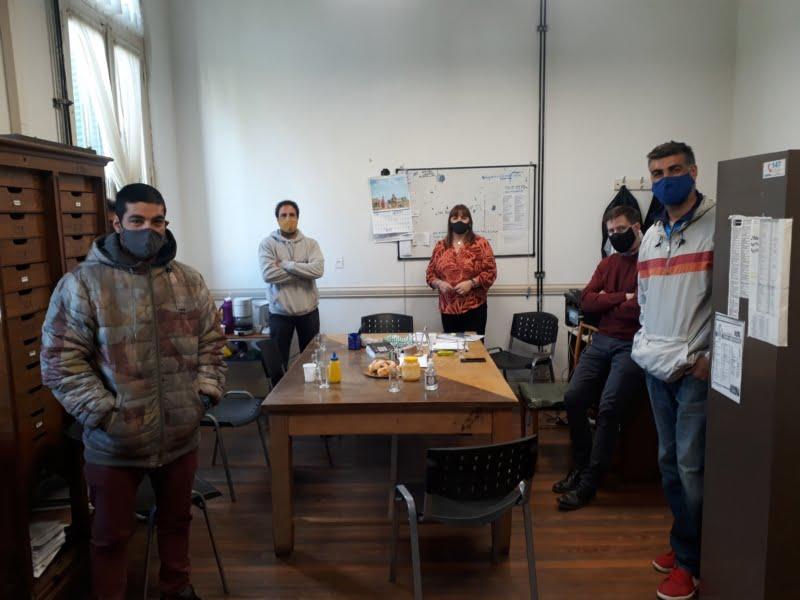 Reunión de guardavidas con concejales del Movimiento Vecinal