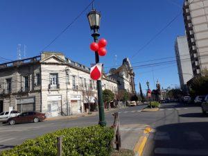 Día Internacional del Donante de Médula Ósea: decoran calles de la ciudad para concientizar