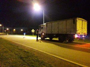 Operativos de tránsito y control vehicular en Ruta 72