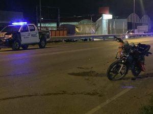 Un herido en accidente de motos en la ruta 3