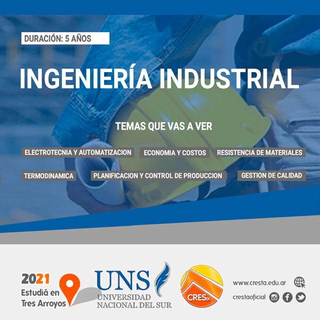CRESTA: toda la información sobre Ingeniería Industrial