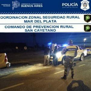 En la rotonda de Energía, CPR San Cayetano incautó marihuana a tresarroyenses