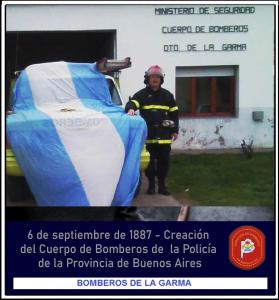 Aniversario de la Dirección de Bomberos Provincial (Video)