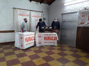 Sergio Di Giácomo ganó el 0 Km. sorteado por Huracán (video)