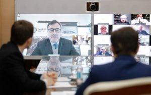 Kicillof conmemoró con cámaras empresarias bonaerenses el Día de la Industria