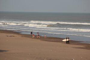 Excepcional día en Claromecó
