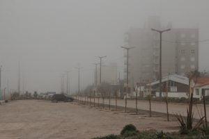 Claromecó: agradable por la mañana, lluvia por la tarde