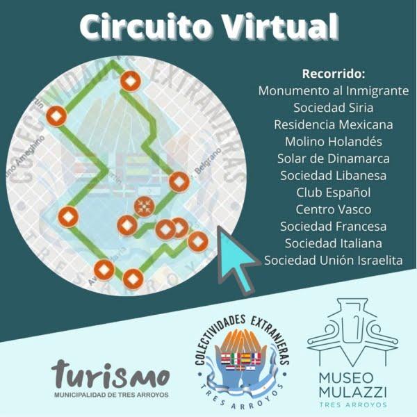 Día del Inmigrante: presentación del Circuito de Colectividades Extranjeras en formato virtual