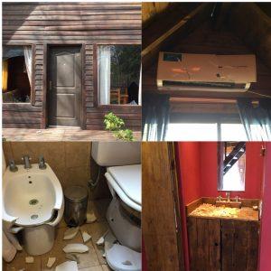 Ocasionan importantes daños en una cabaña de Reta