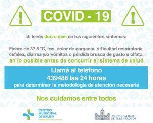 Covid-19: Nos cuidamos entre todos