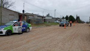Amplio operativo de control policial en Chaves
